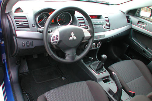 mitsubishi lancer sportback 1 5 invite im test. Black Bedroom Furniture Sets. Home Design Ideas