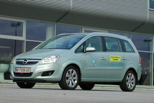 opel zafira 1 6 turbo cng im test autotests autowelt. Black Bedroom Furniture Sets. Home Design Ideas