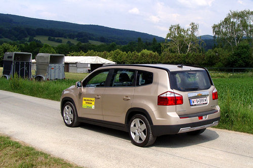 chevrolet orlando 2 0 diesel im test autotests autowelt. Black Bedroom Furniture Sets. Home Design Ideas