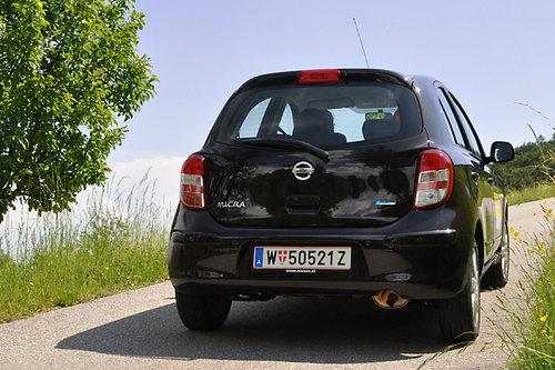 Nissan Micra 1.2 CVT Acenta - im Test   07.07.2011