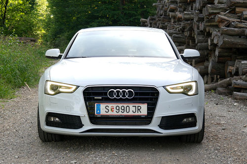 audi a5 sportback 3 0 tdi quattro im test autotests. Black Bedroom Furniture Sets. Home Design Ideas