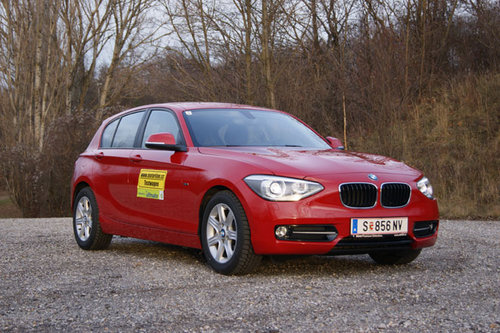 bmw 116d 120d sport line im test autotests autowelt. Black Bedroom Furniture Sets. Home Design Ideas