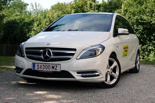 Mercedes b klass elbil