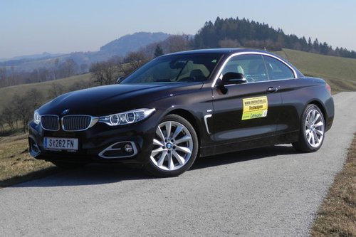 bmw 420d cabrio im test autotests autowelt. Black Bedroom Furniture Sets. Home Design Ideas