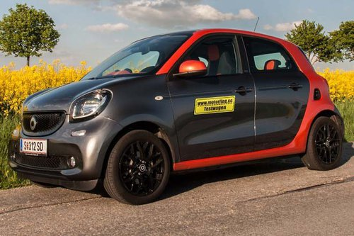 smart forfour 71 ps edition 1 im test autotests. Black Bedroom Furniture Sets. Home Design Ideas