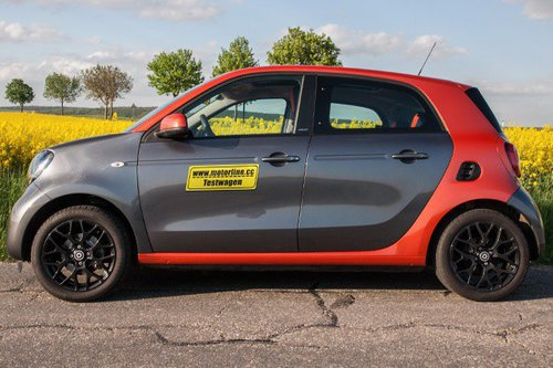 smart forfour 71 ps edition 1 im test autotests autowelt. Black Bedroom Furniture Sets. Home Design Ideas