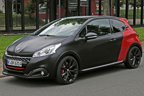peugeot 208 gti by peugeot sport im test autotests autowelt. Black Bedroom Furniture Sets. Home Design Ideas