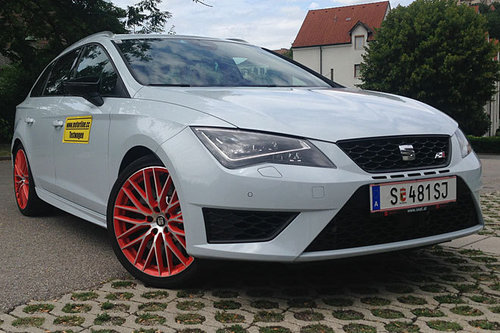 seat leon st cupra 290 dsg im test autotests. Black Bedroom Furniture Sets. Home Design Ideas