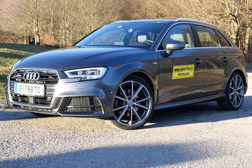 Audi A3 Sportback 2.0 TDI quattro Sport - im Test Audia A3 Sportback 2017