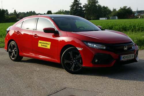 Honda Civic 10 Vtec Turbo Executive Im Test Autotests