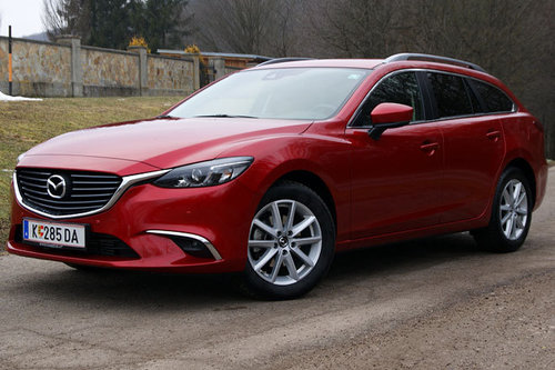 mazda6 sport combi cd150 awd attraction im test autotests autowelt. Black Bedroom Furniture Sets. Home Design Ideas