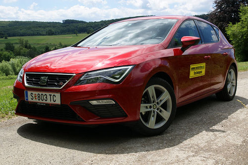 seat leon 1 4 tsi fr fast lane im test autotests. Black Bedroom Furniture Sets. Home Design Ideas