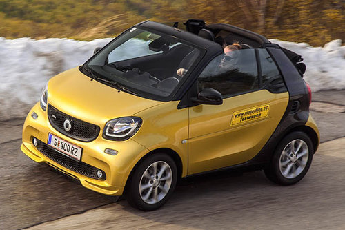 smart brabus fortwo cabrio im test autotests. Black Bedroom Furniture Sets. Home Design Ideas