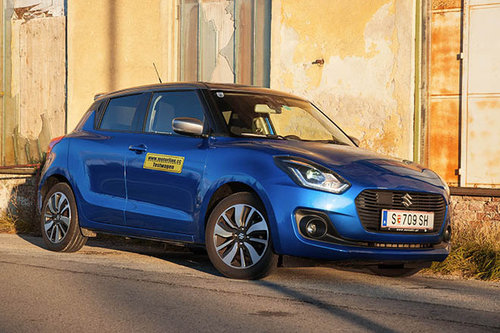 Suzuki Swift 1.0 DITC SHVS Flash - im Test Suzuki Swift 2017