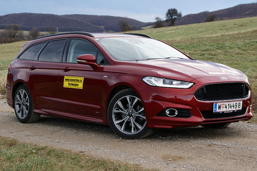 Ford Mondeo Traveller 2.0 TDCi AWD ST-Line - im Test Ford Mondeo Traveller 2018