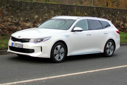 Kia Optima SW PHEV Gold - im Test Kia Optima PHEV 2018