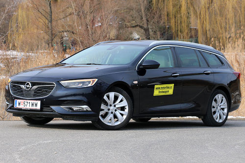 Opel Insignia Sports Tourer 1.5 Turbo Aut. - im Test Opel Insignia Sports Tourer 2018