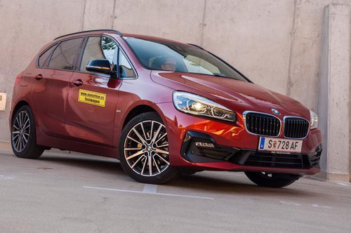 BMW 218d xDrive Active Tourer - im Test BMW 2er Active Tourer 2019