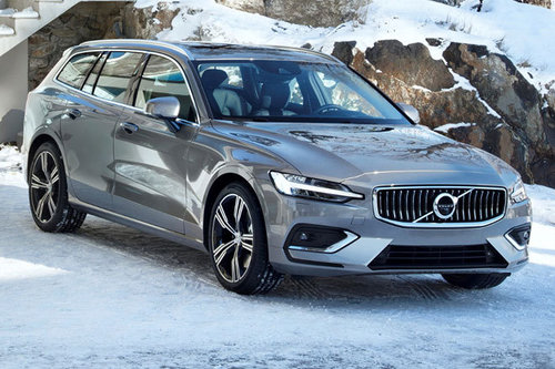 Volvo V60 T6 AWD Inscription - im Test Volvo V60 2019