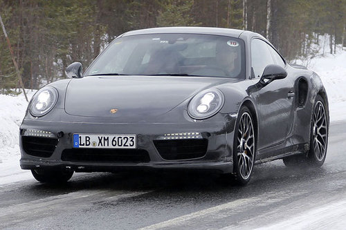 ERWISCHT: Porsche 911 Turbo Facelift
