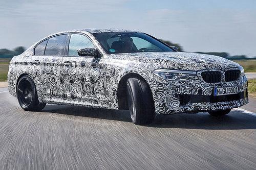 ERWISCHT: neuer BMW M5 BMW M5 2017