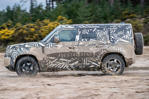 ERWISCHT: Land Rover Defender 2020 Land Rover Defender 2020
