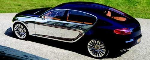 bugatti zeigt die st rkste limousine der welt traumautos. Black Bedroom Furniture Sets. Home Design Ideas