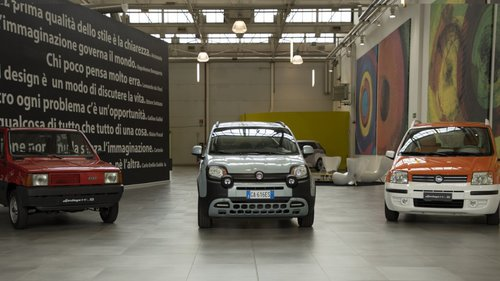 Happy Birthday Fiat Panda!