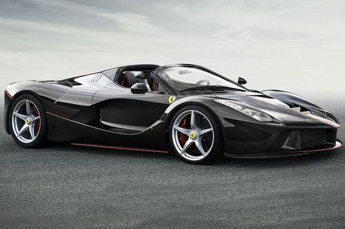 Pariser Autosalon Ferrari Laferrari Spider News Autowelt Motorline Cc