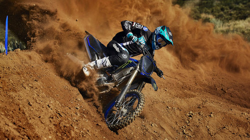 Yamaha YZ250F als Monster Energy Edition