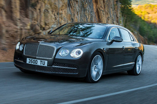 Bentley mit Flying Spur am Genfer Autosalon