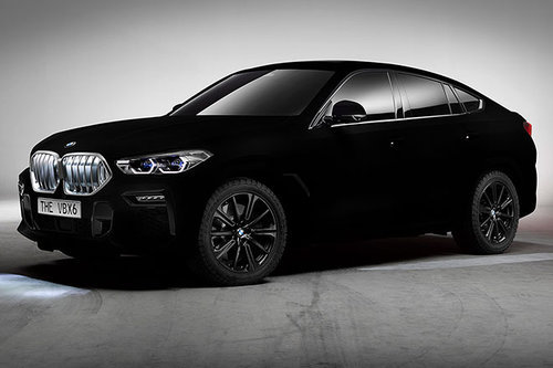 IAA 2019: BMW X6 in Vantablack