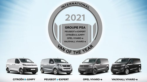 "PSA-Quartett als ""Van of the Year"""