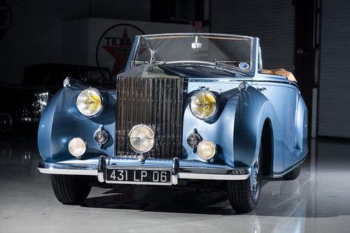 Rolls-Royce Silver Wraith Cabriolet 1948