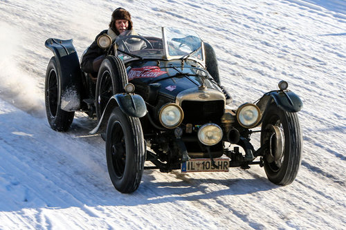 Planai-Classic 2017 Sunbeam Supersport 1930 Johann Kofler Planai Classic