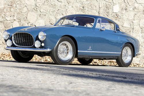 Ferrari 250 Europa GT (Leichtbau) versteigert Ferrari 250 Europa GT Leichtbau 1955