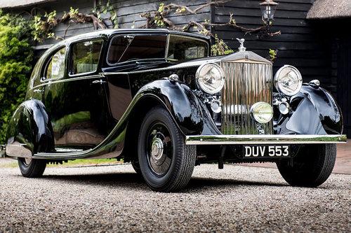 Pebble Beach: Rolls-Royce Phantom III Rolls-Royce Phantom III 1936