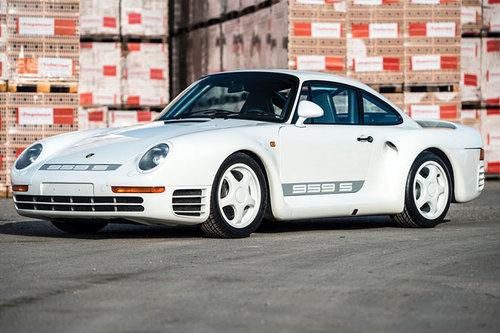 RM Sotheby's: Auktion exklusiver Porsche Porsche 959 1988