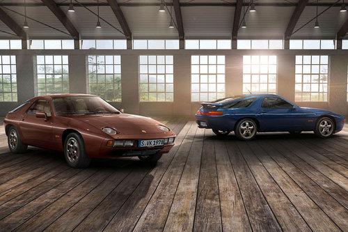 Techno Classica: Porsche feiert den 928 Porsche 928