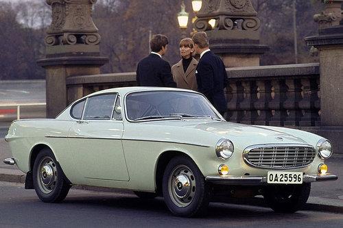 Techno Classica: Volvo feiert 90. Geburtstag Volvo P1800 1966