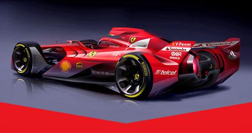 Formel  News Ferrari Designstu