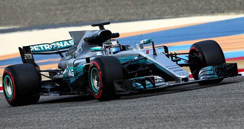Formel-1-Test: Bahrain