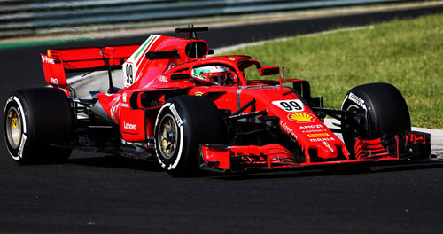 Formel-1-Test: Hungaroring