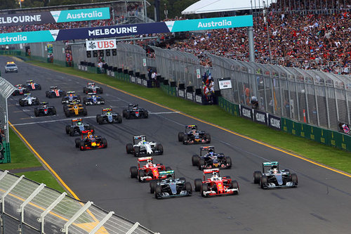 Formel-1-Teams 2017 Formel 1 Melbourne Australien Start 2016
