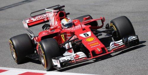Formel 1: Hamilton siegt in Spanien vor Vettel