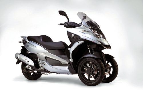 neuer dreirad roller quadro 350d news motorrad