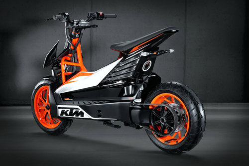 ktm mit roller studie e speed in tokio news motorrad. Black Bedroom Furniture Sets. Home Design Ideas