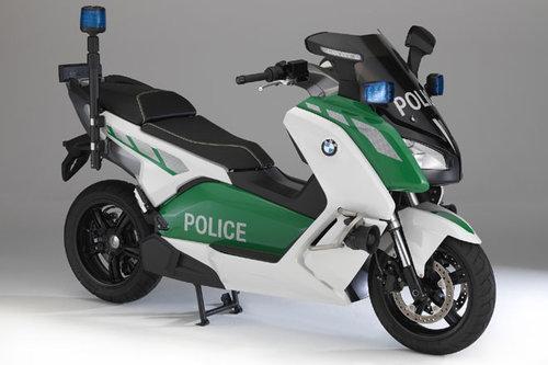 polizei roller weltpremiere bei bmw news motorrad. Black Bedroom Furniture Sets. Home Design Ideas