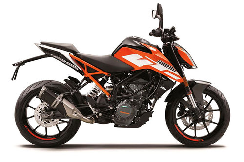 Saisoneröffnung: KTM Orange Days KTM 125 Duke 2017