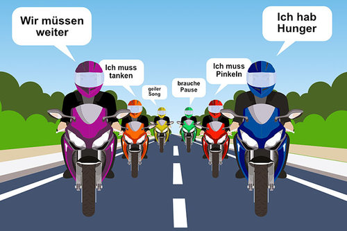 Bluetooth: mobile Kommunikation unter Bikern